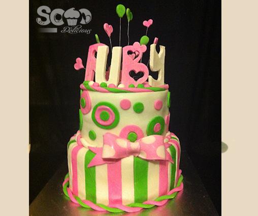 Ruby's Birthday Cake